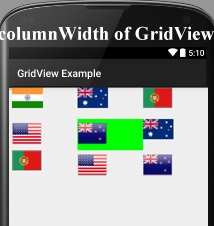 Listview Columns Android